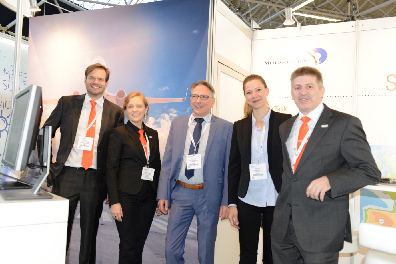 MeteoSolutions at the MTWE 2018 in Amsterdam